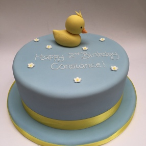 Favourite Toy Duck Cake